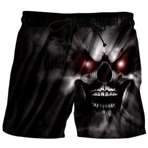 Herogameszone 3D Shorts A Wicked Skull S 3D Shorts