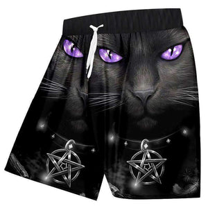 Herogameszone Cat Eye 3D Shorts S 3D Shorts