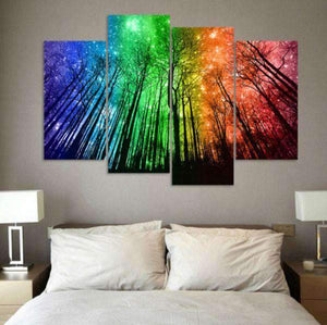 Herogameszone Colorful Sky Canvas Printed Wall Art Canvas Printed Wall Art