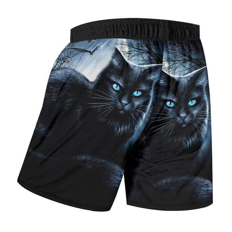 Herogameszone Dark Cat 3D Shorts 3D Shorts