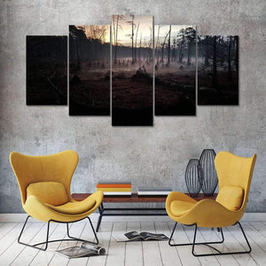 Herogameszone Dark Forest Canvas Printed Wall Art Canvas Printed Wall Art