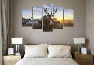 Herogameszone Deer Canvas Printed Wall Art Canvas Printed Wall Art
