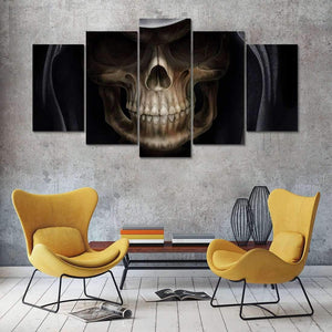 Herogameszone Evil Skull Canvas Printed Wall Art Canvas Printed Wall Art