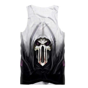 Herogameszone Evil Skull Tank Top Sleeveless S Tank Top Sleeveless