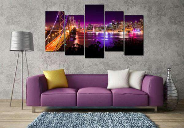 Herogameszone Gate Bridge San Francisco Canvas Printed Wall Art Canvas Printed Wall Art