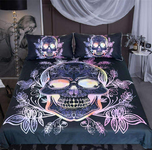 Herogameszone Gothic Skull Duvet Cover Bedding Set US Full Bedding Set