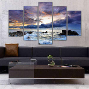 Herogameszone Ocean Seascape Canvas Printed Wall Art Canvas Printed Wall Art