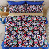 Herogameszone Skull Bedding Set Bedding Set