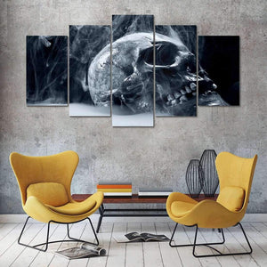 Herogameszone Skull Canvas Printed Wall Art Canvas Printed Wall Art