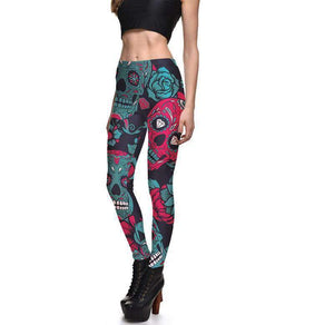 Herogameszone Skull Leggings For Women Leggings For Women