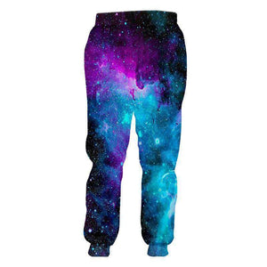 Herogameszone Space 3D Casual jogger pants Long Sleeve 3D Casual jogger pants Long Sleeve