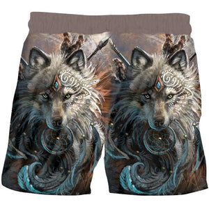 Herogameszone The Wolf Warrior 3D Shorts 3D Shorts