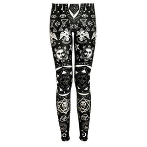 Symbolic Occult Leggings