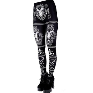 Satanic Fitness Leggings