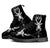 Goat Head Satanic High Top Combat Boots