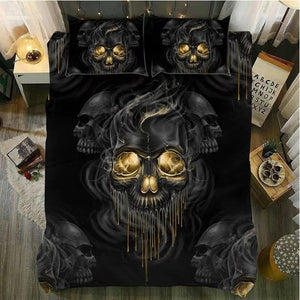 Dark Skull Bedding Set