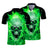 Green Skull Polo Shirt