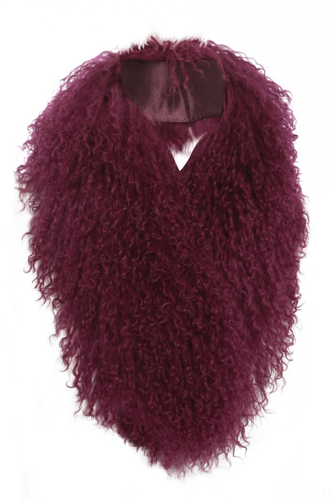 Mongolian Fur Collar Berry