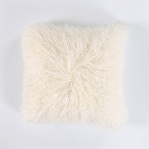 Tibetan Mongolian Sheepskin Cushion