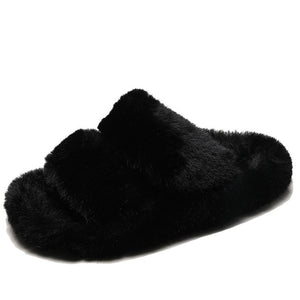 Soft Faux Fur Slippers