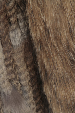 The Classic Brown Fur Gilet
