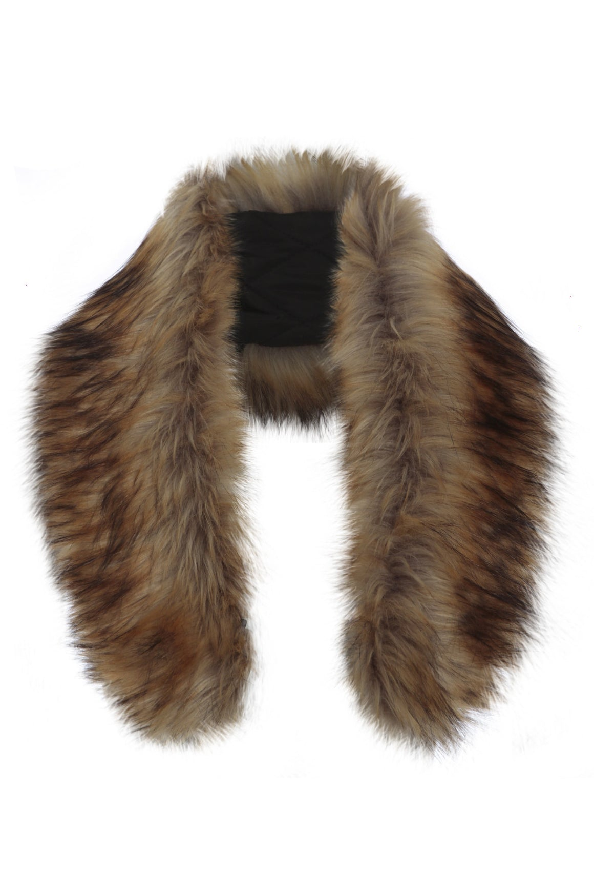 Faux Fur Collar Tan