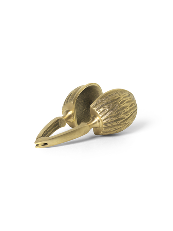 FOREST NUT CRACKER-BRASS