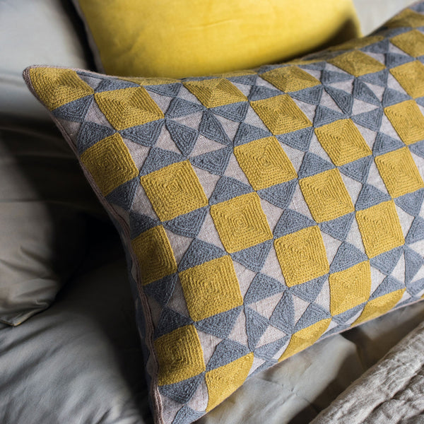 Zellij Cushion, HOME DECOR, NIKI JONES, - Fabrica