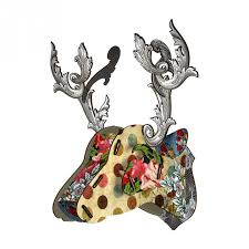 Trophy Deer  - Tip Top, HOME DECOR, MIHO UNEXPECTED, - Fabrica