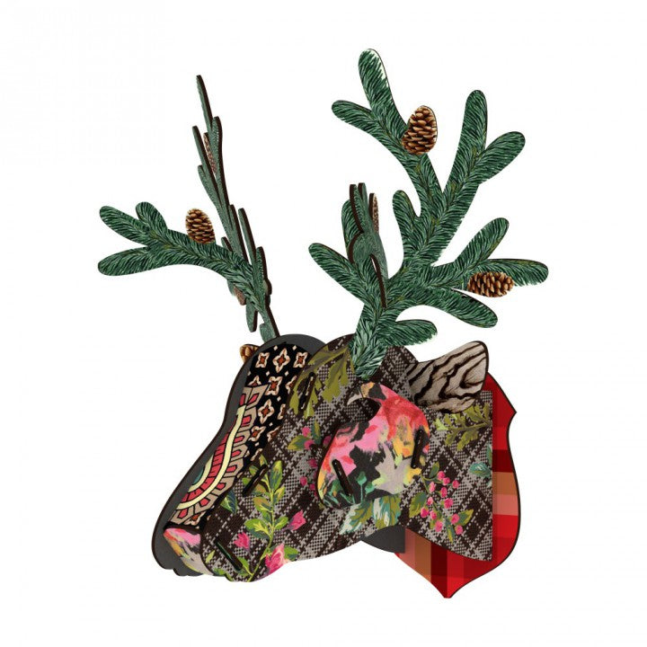 Trophy Deer  - In the pines, HOME DECOR, MIHO UNEXPECTED, - Fabrica