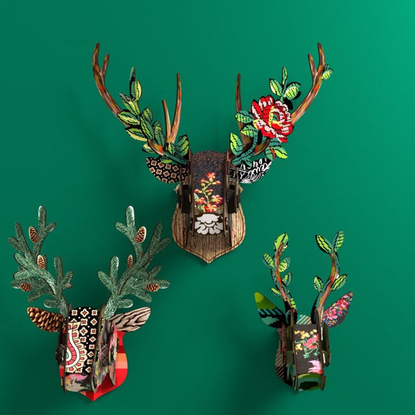 Trophy Deer  - Funhouse, HOME DECOR, MIHO UNEXPECTED, - Fabrica