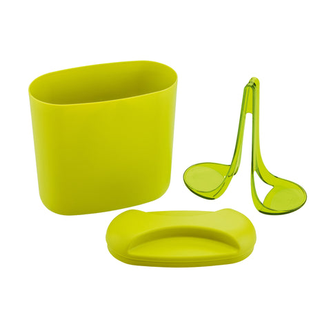 Pad Rick Coffeepad Box (Mustard green), KITCHENWARE, KOZIOL, - Fabrica