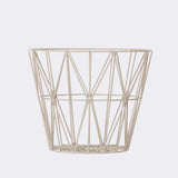 Wire Basket - Small - Grey, HOME DECOR, FERM, - Fabrica