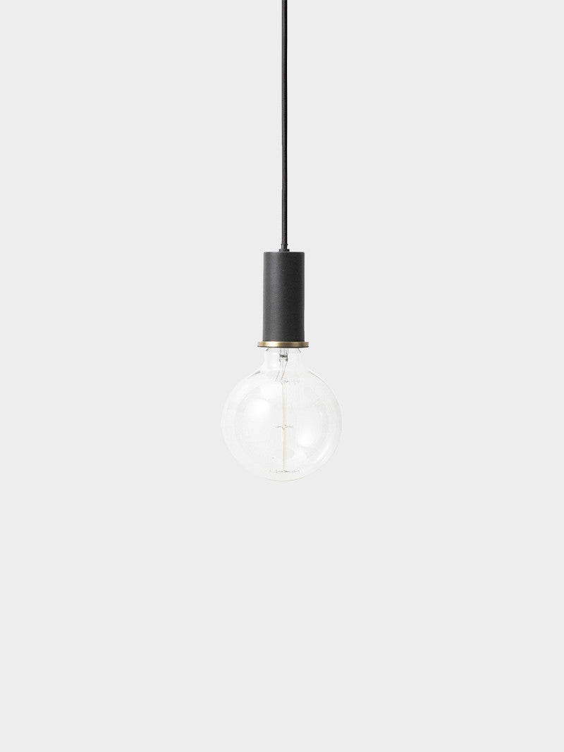 Socket Pendant Low - Black, LIGHTING, FERM, - Fabrica