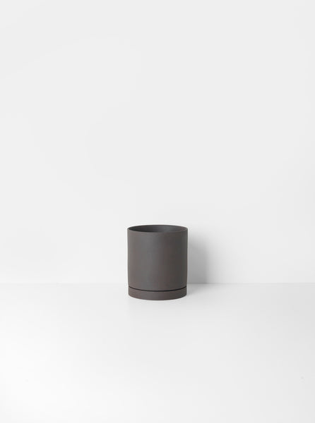 SEKKI POT-LARGE-CHARCOAL