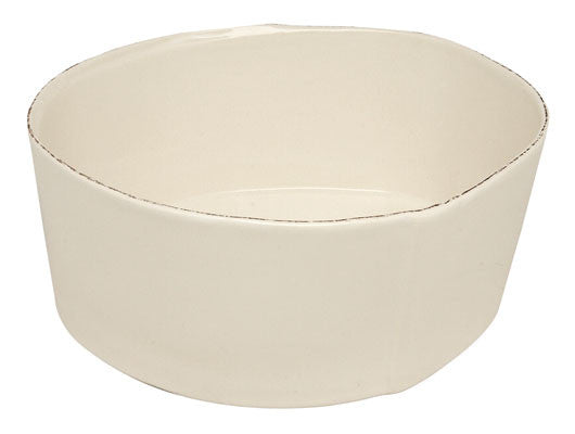 Lastra Large Salad Bowl - White, KITCHENWARE, VIRGINIA CASA, - Fabrica