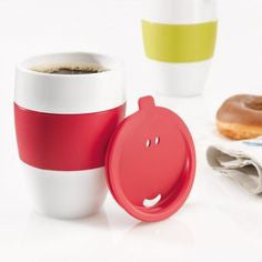Insulated Cup Aroma To Go With Lid, KITCHENWARE, KOZIOL, - Fabrica