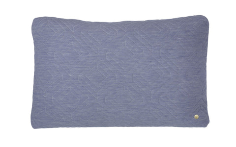 Quilt Cushion - Light Blue, HOME DECOR, FERM, - Fabrica