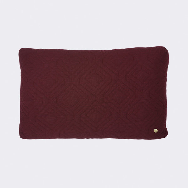 Quilt Cushion - Bordeaux, HOME DECOR, FERM, - Fabrica