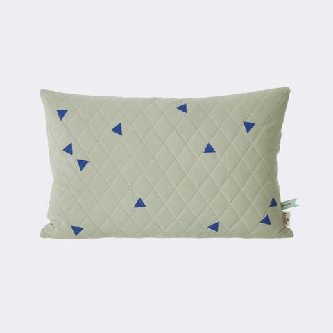 Teepee Quilted Cushion - Mint, KIDS, FERM, - Fabrica