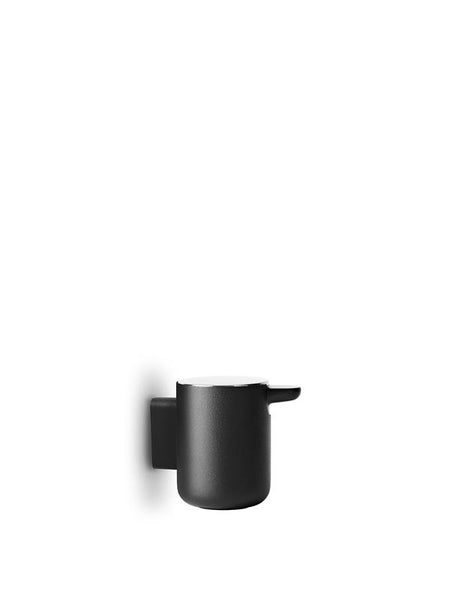 SOAP PUMP, WALL IN BLACK