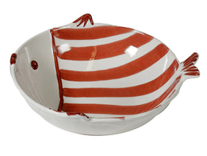 Marina Rosso Rodi Salad Bowl, HOME DECOR, VIRGINIA CASA, - Fabrica