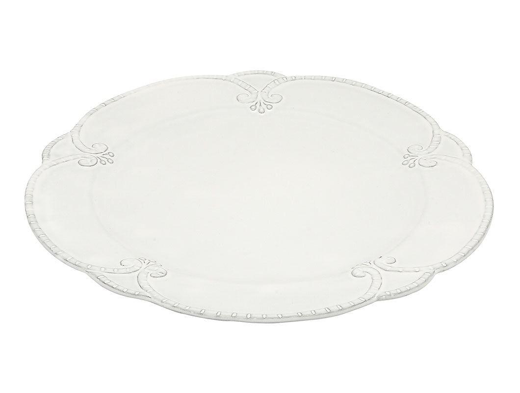Italica-Dinner plate with flower