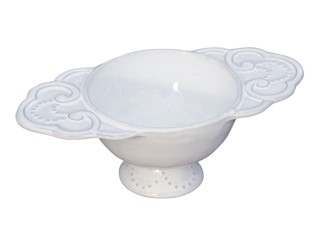 Italica-Scallop handled soup tureen