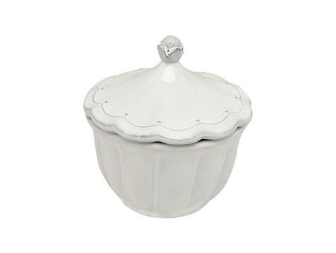 Italica Sugar Pot - White, KITCHENWARE, VIRGINIA CASA, - Fabrica