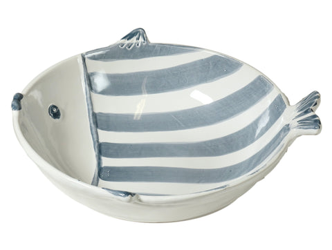 Marina Blu Avio Salad Bowl, HOME DECOR, VIRGINIA CASA, - Fabrica