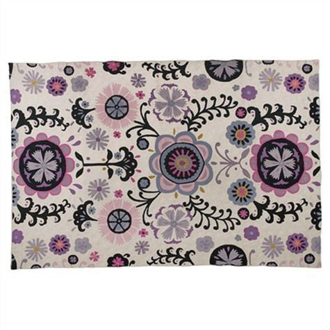 Folk Rug Ecru With Multi Colours, HOME DECOR, NIKI JONES, - Fabrica