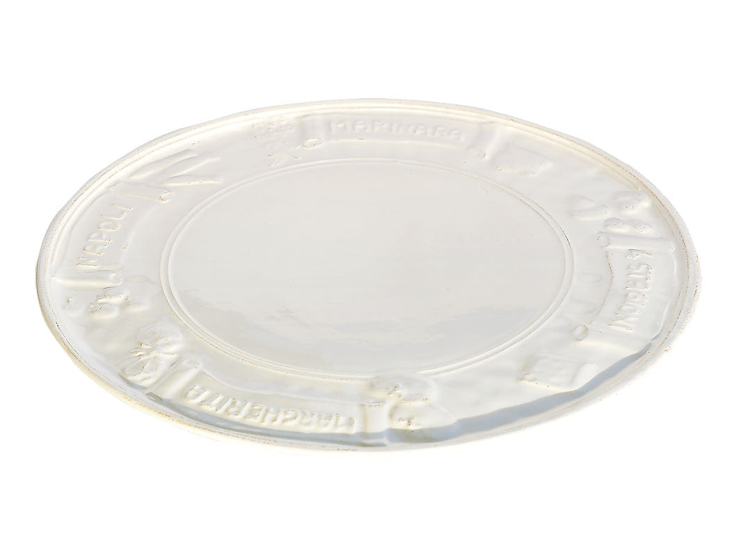 Osteria Pizza Plate Pale Blue, KITCHENWARE, VIRGINIA CASA, - Fabrica