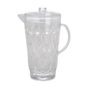 ACRYLIC JUG WITH SWIRLY EMBOSSED DETAIL-CLEAR, KITCHENWARE, RICE, - Fabrica