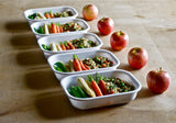 Lunch Box Rectangular - White/Lime, PERSONAL, BLACK+BLUM, - Fabrica
